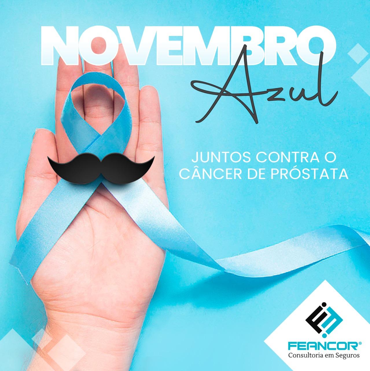 Novembro Azul: Mês da conscientização do câncer de próstata